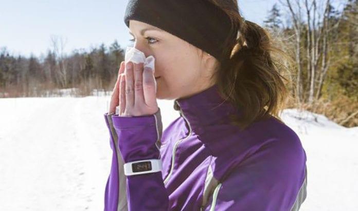 trčanje i prehlada